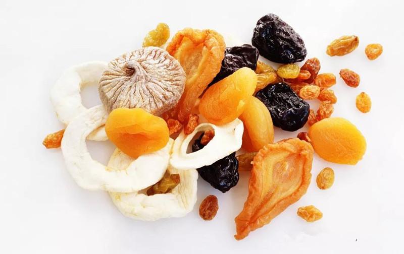 果脯蜜饯水果干之间的区别
